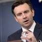 White House press secretary Josh Earnest on Thursday mocked Congress' Obamacare repeal bill, saying in 60 efforts to overturn the law, this was the first one to make it to President Obama's desk. (Associated Press)