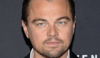 """Actor Leonardo DiCaprio attends the premiere for """"The Revenant"""" at AMC Loews Lincoln Square on Wednesday, Jan. 6, 2016, in New York. (Photo by Evan Agostini/Invision/AP)"""