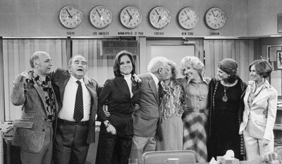 Which TV station does Mary Richards work for?
