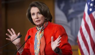 House Minority Leader Nancy Pelosi of Calif. speaks to reporters during a news conference on Capitol Hill in Washington, Wednesday, Jan. 13, 2016. A major abortion-rights group, NARAL Pro-Choice America, criticized the Democratic leader, long considered one of their staunchest congressional allies, today over her recent remarks about abortion on demand.  (AP Photo/J. Scott Applewhite)