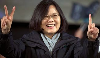 Tsai Ing-wen is making her second attempt to be the first female president of Taiwan. (Associated Press)