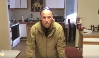 Jon Ritzheimer, a former U.S. Marine and a self-identified patriot, blasted critics sending in hate mail and urged supporters to join him and an armed militia occupying an Oregon wildlife refuge in a video message posted to his Facebook page. (Image: Facebook)