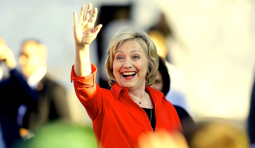 Presidential hopeful Hillary Clinton has captivated the global press with her recent remarks on UFOS and extraterrestrials, according to a new media study. (Associated Press)