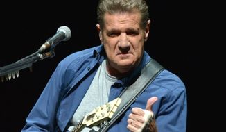 Glenn Frey, the guitarist and sometime singer for the legendary 1970s band The Eagles, has died at age 67. (Associated Press)
