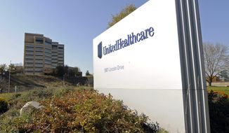 UnitedHealth, based in Minnetonka, Minnesota, shocked the health sector in November when it said it planned to scale back its offerings in the marketplace set up by the Affordable Care Act, citing a sicker-than-expected customer base which the company said was skewing the economics of the plan. (Associated Press)