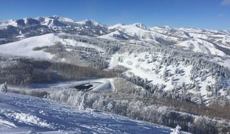 A view of ski country at Solitude in Utah.  (Eric Althoff)