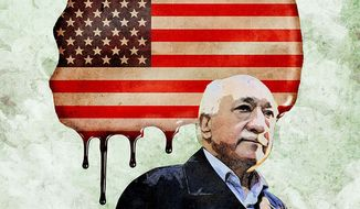 Gulen Plan to Destroy America Illustration by Greg Groesch/The Washington Times