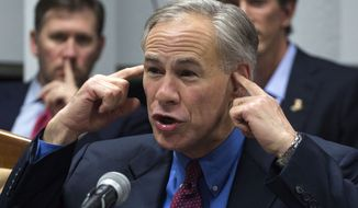 Texas Gov. Greg Abbott, a Republican, said the indictments are just a first step and that he is awaiting the other investigations' conclusions. (Associated Press)