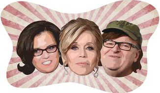 Thew New Liberal Three Stooges Illustration by Greg Groesch/The Washington Times