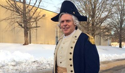 "Virginia Gov. Terry McAuliffe posted photos of himself on Twitter in full costume as Gen. Robert Lawson for a cameo appearance on the AMC show ""Turn: Washington Spies,"" a Virginia-based series about spycraft now in its third season."