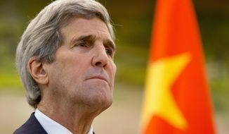 Secretary of State John Kerry's trip to Beijing this week was preceded by reports that the administration is pushing behind the scenes on China and other North Asian nations to embrace an aggressive sanctions regime that would even ban all oil exports to North Korea. (Associated Press)
