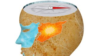 Our Moral Compass on Syria Illustration by Greg Groesch/The Washington Times