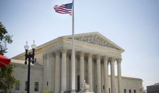 This June 30, 2014, file photo shows the Supreme Court building in Washington. (AP Photo/Pablo Martinez Monsivais, File)