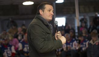 Republican presidential candidate, Sen. Ted Cruz, R-Texas speaks at a campaign event at High Point Bulls Oswald Barn, Tuesday, Jan. 26, 2016, in Osceola, Iowa. (AP Photo/Jae C. Hong)