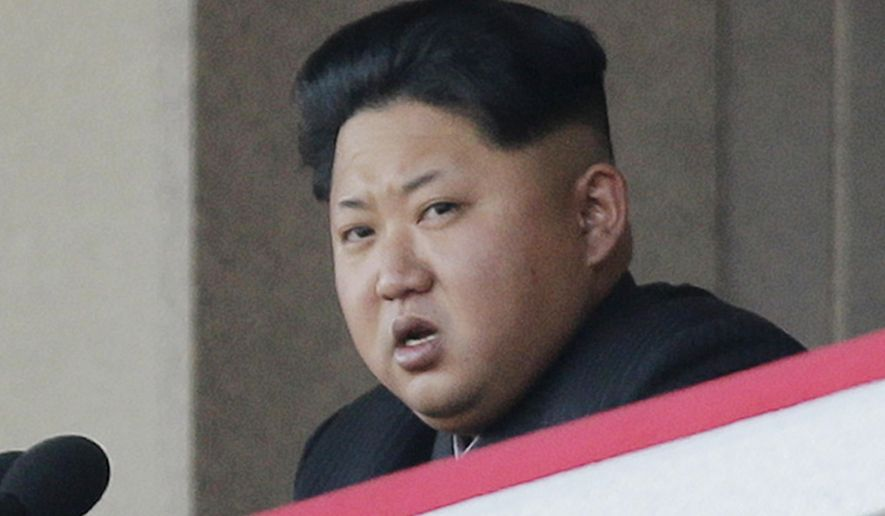 North Korean dictator Kim Jong-un issued his latest nuclear-program brag Wednesday, saying on state media that his country had developed a nuclear warhead. (Associated Press)