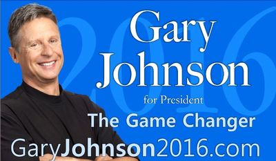 Libertarian presidential hopeful Gary Johnson has begun his campaign for the White House in earnest.