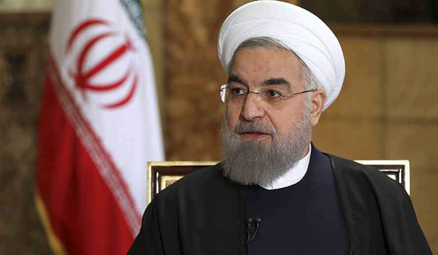 """Iranian President Hassan Rouhani just finished a shopping spree across Europe, and critics fear the nation's military and hard-line security forces now have the funds to do the same, as Tehran claims to have secured access to """"more than $100 billion"""" from sanctions relief. (Associated Press)"""