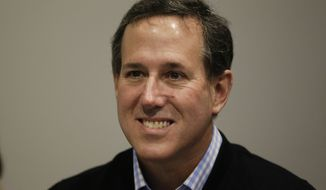 Rick Santorum. (Associated Press) ** FILE **