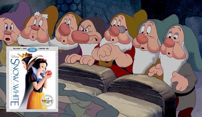 Snow White and the Seven Dwarfs: The Signature Collection is now available on Blu-ray from Walt Disney Studios Home Entertainment.