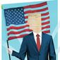 Illustration on using the Constitutional principles as the criteria for a true conservative candidate by Linas Garsys/The Washington Times