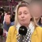 Esmerelda Labye, a Belgian reporter covering the weeklong Carnival celebration in Cologne, Germany, says she was groped while giving a live report. (RTBF)
