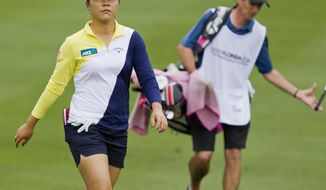 Lydia Ko makes her way to the 18th green as she finished the second round of the LPGA Coates Golf Championship in Ocala, Fla., Thursday, Feb. 4, 2016. (Cyndi Chambers/Star-Banner via AP) MANDATORY CREDIT