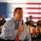 New Jersey Gov. Chris Christie has spent 72 days campaigning in New Hampshire but has managed to persuade only 5 percent of primary voters to support him, according to polls.
