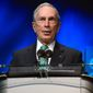 "Michael Bloomberg told the Financial Times he is ""looking at all the options"" and ""listening to what candidates are saying and what the primary voters appear to be doing."" (Associated Press)"