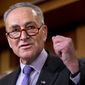 Sen. Charles E. Schumer, New York Democrat, decried his Republican colleagues for what he said is a weak response on clearing funds to fight Zika and the Flint, Michigan, lead-poisoned water problem. (Associated Press)