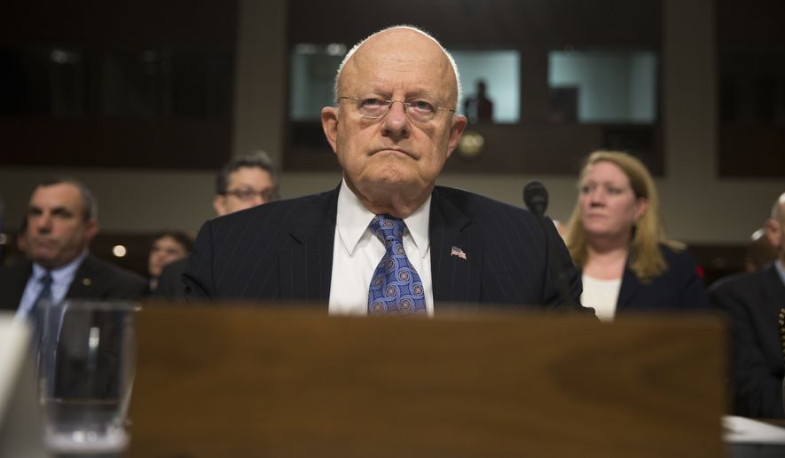 """In my 50-plus years in the intelligence business, I cannot recall a more diverse array of crises and challenges than we face today,"" Director of National Intelligence James R. Clapper said at a daylong Senate Armed Services Committee hearing Tuesday. (Associated Press)"