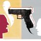 Illustration on the truth about gun control by Donna Grethen/Tribune Content Agency