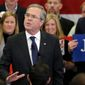 Republican presidential candidates Jeb Bush and Sen. Marco Rubio need a strong finish in South Carolina's first-in-the-South primary to sustain their campaigns through a series of multistate primaries next month. (Associated Press photographs)