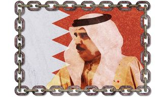 Difficult Diplomacy with Bahrain Illustration by Greg Groesch/The Washington Times