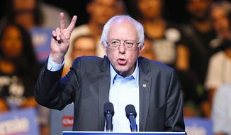 "Democratic presidential candidate Sen. Bernard Sanders unapologetically describes himself as a ""democratic socialist,"" prompting much discussion about the candidate's political pedigree. (Associated Press)"
