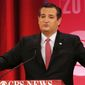 Republican presidential candidate, Sen. Ted Cruz, R-Texas, speaks during the CBS News Republican presidential debate at the Peace Center, Saturday, Feb. 13, 2016, in Greenville, S.C. (AP Photo/John Bazemore)