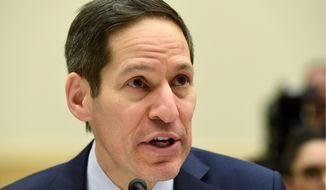 Dr. Tom Frieden, director of the Centers for Disease Control and Prevention, is calling for a $1.8 billion project to combat Aedes aegypti. (Associated Press) **FILE**