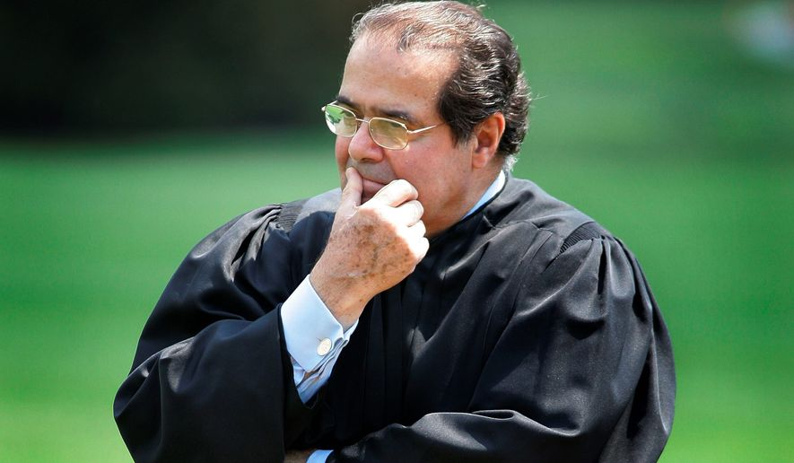 Supreme Court Justice Antonin Scalia leaves an intellectual conservative void on the Supreme Court, one that Republicans are in no hurry for the president to fill. His death Saturday created a political crisis in a pivotal election year. (Associated Press)
