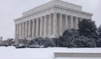 For the Lincoln Memorial, the National Park Service has deferred about $20 million in maintenance. In fiscal 2015, Congress' allocated maintenance budget for the landmark was $490,000. (Ryan McDermott/The Washington Times)