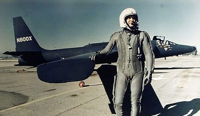 Francis Gary Powers was shot down while piloting a high-altitude U2 spy plane over the Soviet Union in 1960.