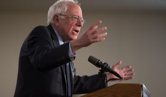 Analysts say Democratic presidential candidate Sen. Bernard Sanders' unkempt hair and rumpled look give him legitimacy as a people's candidate. (Associated Press)