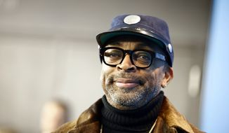 Director Spike Lee arrives for a photocall for the film 'Chi-Raq, at the 2016 Berlinale Film Festival in Berlin, Tuesday, Feb. 16, 2016. (AP Photo/Axel Schmidt) ** FILE **