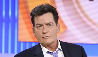 """In this Tuesday, Nov. 17, 2015, file photo, actor Charlie Sheen appears during an interview on NBC's """"Today"""" show in New York, saying he tested positive four years ago for the virus that causes AIDS. A new study released Monday, Feb. 22, 2016, found that Sheen's revelation prompted the greatest number of HIV-related Google searches recorded in the United States since 2004. (Peter Kramer/NBC via AP)"""