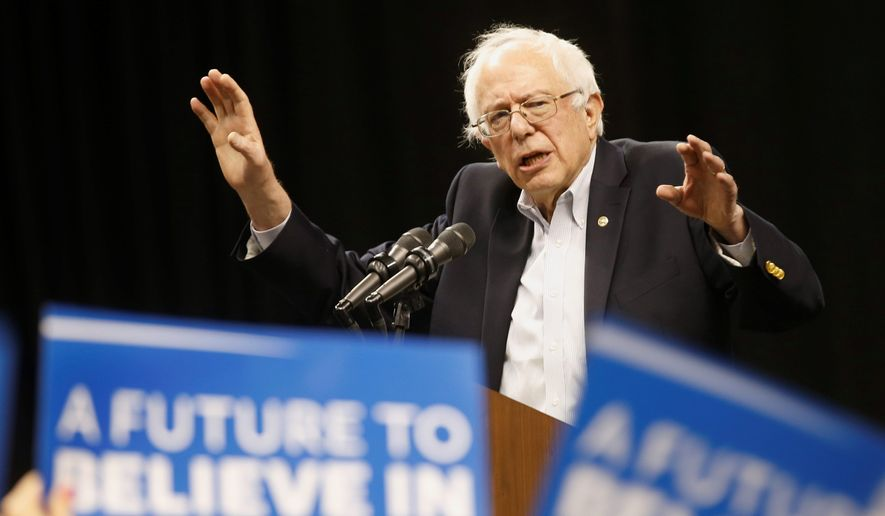 Sen. Bernard Sanders is losing the race for Southern black voters ahead of the crucial Super Tuesday contests. (Associated Press)