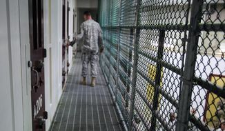 Addressing the U.S. detention center at Guantanamo Bay, Cuba, has been on President Obama's agenda since 2008. Now in the final year of his term, he is facing an increasingly resistant Congress. (Associated Press)