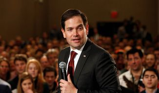 Sen. Marco Rubio has been busy accumulating endorsements throughout February. (Associated Press)