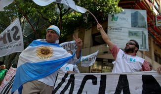 In the first strike against the new government of Argentina's President Mauricio Macri, workers blocked streets in Buenos Aires and around the country, but the protest paled in comparison to two general strikes in 2015. Commentators focused more on the failure by protesters Wednesday to garner support from major labor federations. (Associated Press)