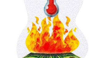 Failure to Sway Public Opinion on Global Warming Illustration by Greg Groesch/The Washington Times