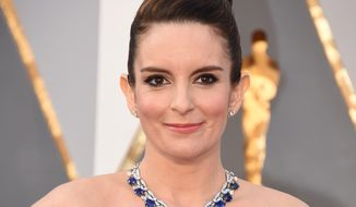 """Chris Rock needs no advice from me. He is the greatest living stand-up comedian,"" Tina Fey said. (Associated Press)"