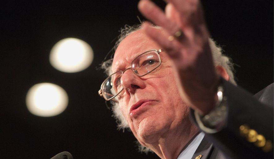 Democratic presidential candidate, Sen. Bernard Sanders has not made the primary election about Hillary Clinton's character and honesty. (Associated Press)