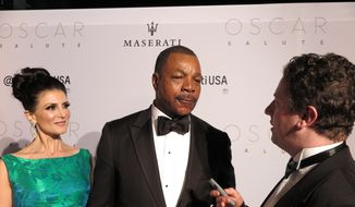 Carl Weathers at the W Oscars afterparty.  (Sarah Haufrect)